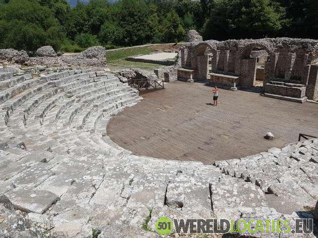 Albanië - Het Amfitheater van Butrint