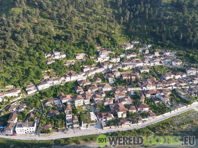 De Oude Ottomaanse stad Berat