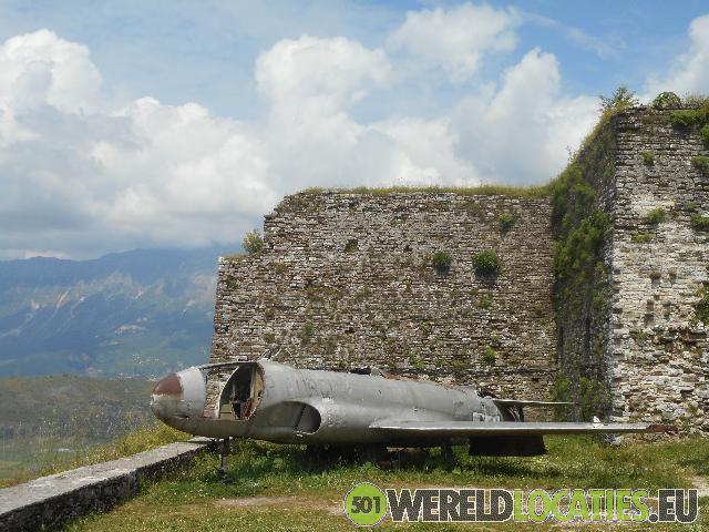 Albanië - De oude wijk van Gjirokaster