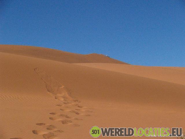De zandduinen van Parque Nacional do Iona