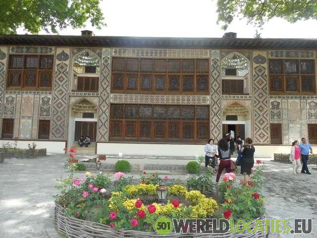 Azerbeidzjan - Sheki paleis