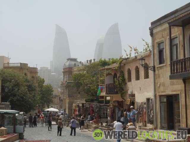 Oude stad van Baku