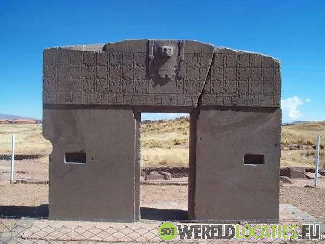 De opgravingen van Tiahuanaco