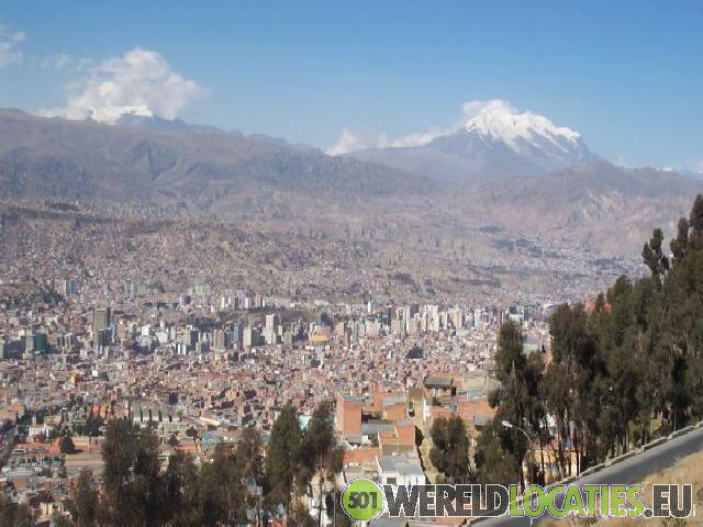 De hoogste hoofdstad ter wereld La Paz