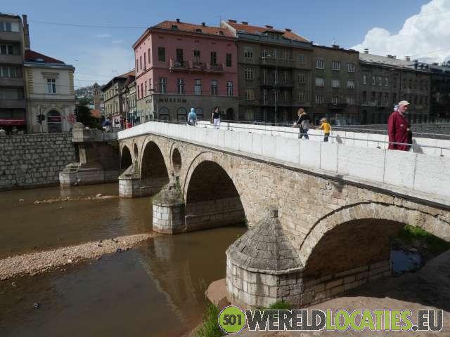 Bosnië en Herzegovina - Oude stad van Sarajevo