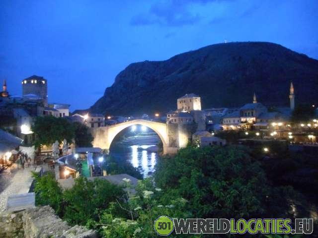 De oude brug van Mostar