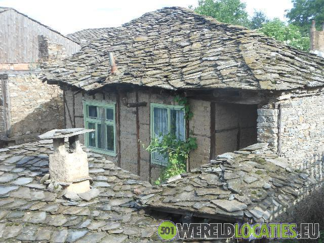 Het oude stadje Kovachevitsa