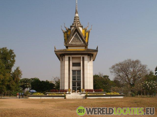 Cambodja - Choeung Ek, De Killing Fields
