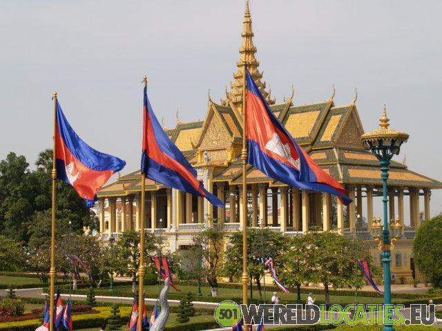 Het Koninlijk Paleis en de Zilveren pagode