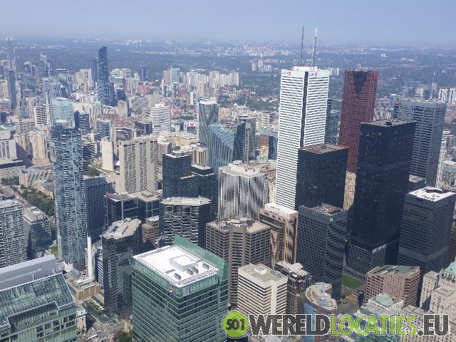 Canada - Uitzicht vanaf de CN Tower