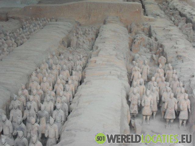Terracottaleger van Xian