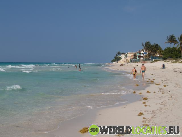 Relaxen op het strand van Varadero