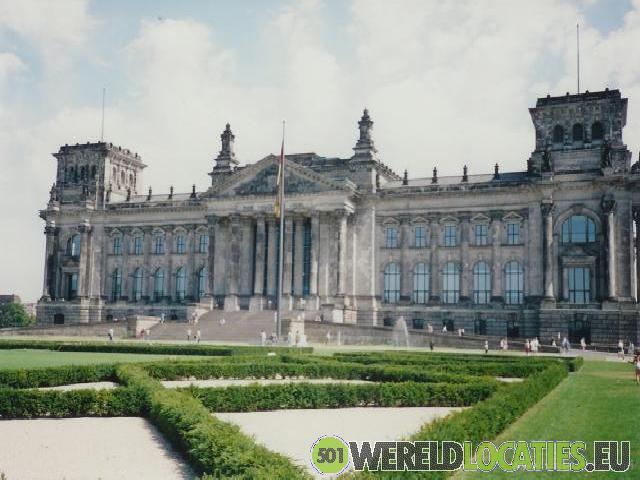 De Rijksdag van Berlijn