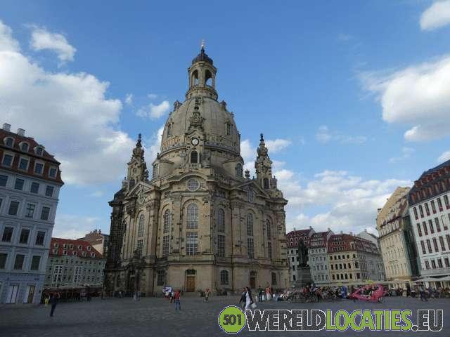 Oud Dresden aan de Elbe