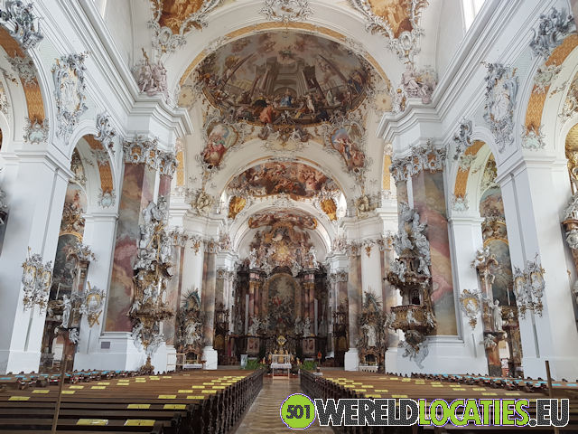 Duitsland - De kathedraal van Ottobeuren
