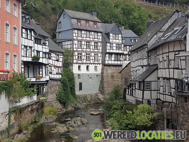 Duitsland - De vakwerkhuizen van Monschau