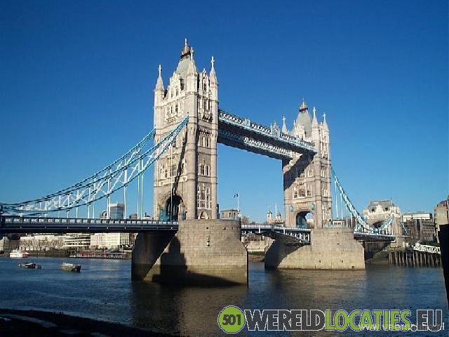 Engeland - De Tower Bridge in Londen