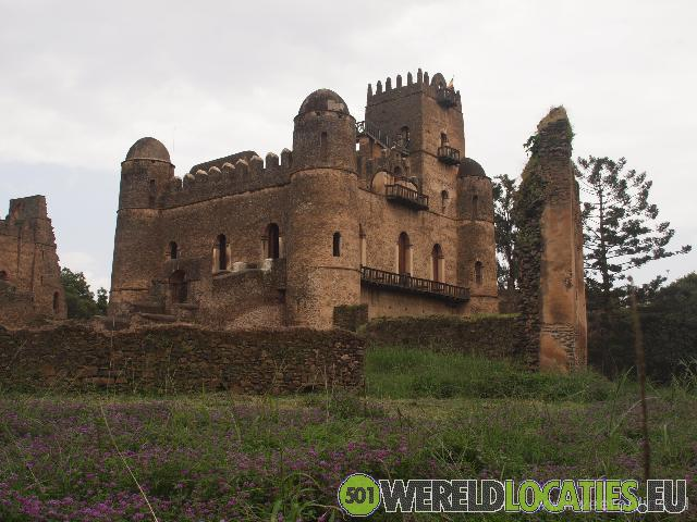 Ethiopië - Fasil Ghebbi fort van keizer Fasiladas
