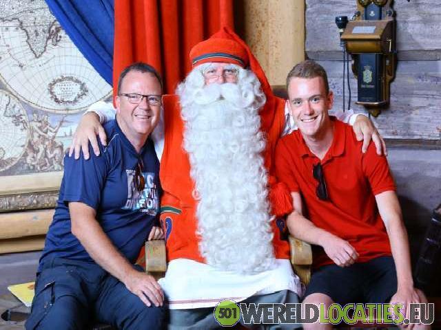 Finland - De ontmoeting met de kerstman