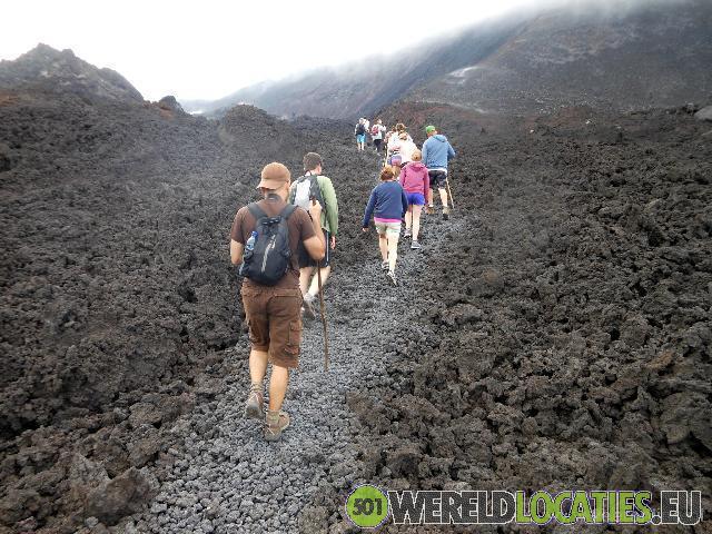Guatemala - Beklimming van de Pacaya vulkaan