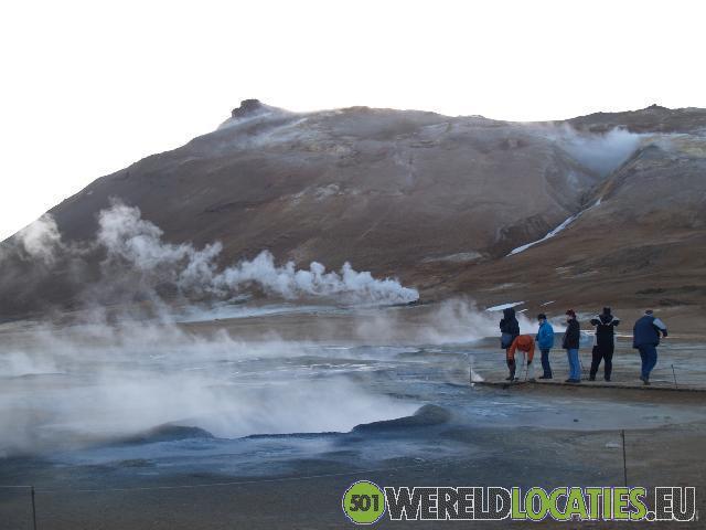 Lavaformaties rond Myvatn