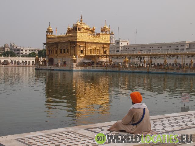 Gouden Sikhs tempel in Amritsar