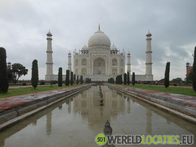 India - Oog in oog met de Taj Mahal