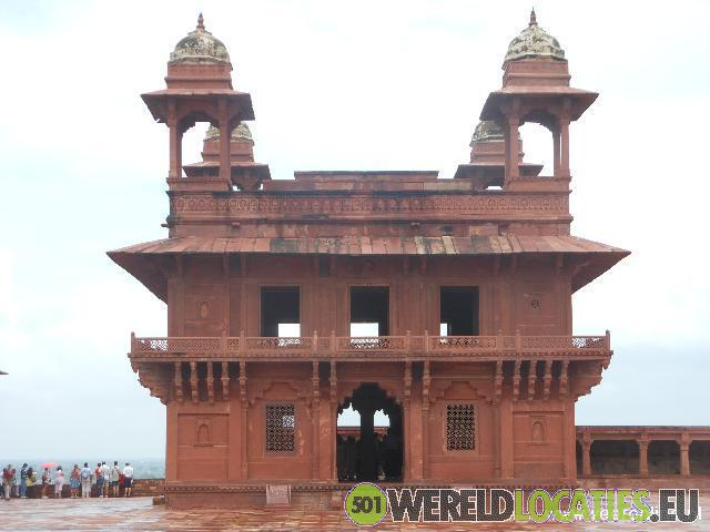 Het fort van Fatehpur Sikri