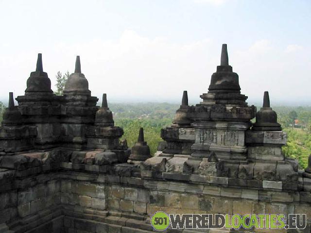 Indonesië - De Borobudur
