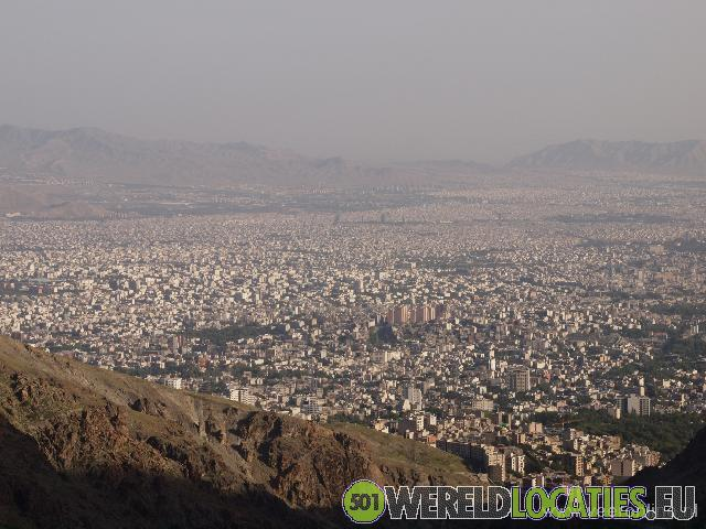 Alborz Mountains in Teheran
