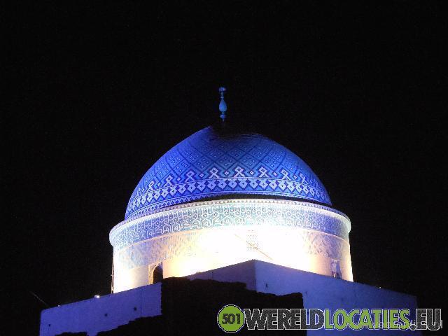 De woestijnstad Yazd