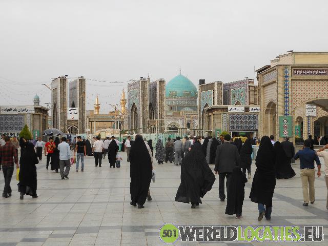 Iran - Imam Reza's mausoleum in Mashhad