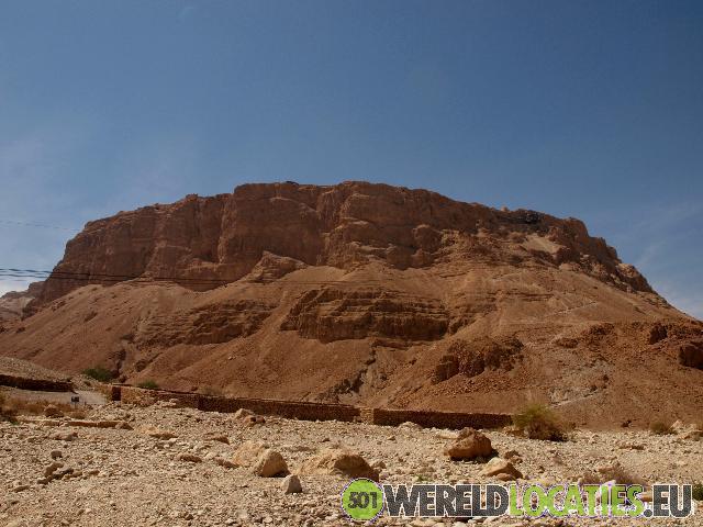 Israel - Herodes rotsburcht Masada