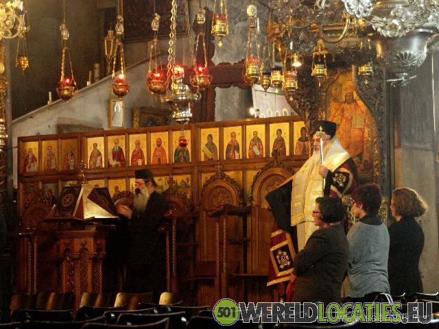 De Geboortekerk in Bethlehem