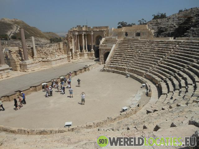 Israel - Romeinse stad Beit She'an