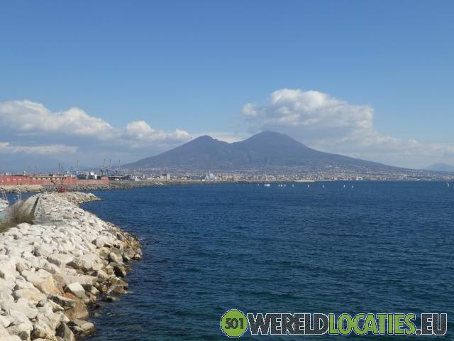 Italië - De Vesuvius vulkaan