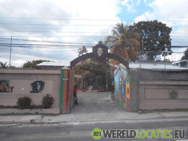 Jamaica - Het Bob Marley Centre and Mausoleum