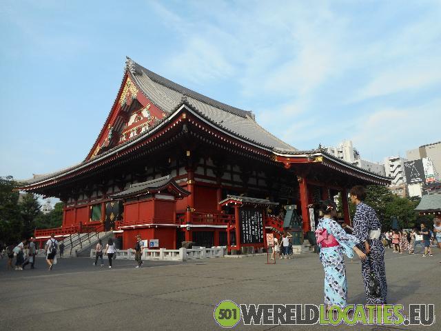 Japan - Boeddhistische  Sensoji tempel