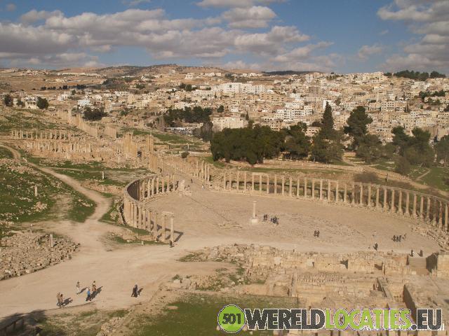 Archeologische site Jerash