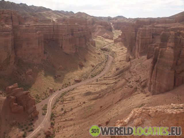 De prachtige Charyn Canyon