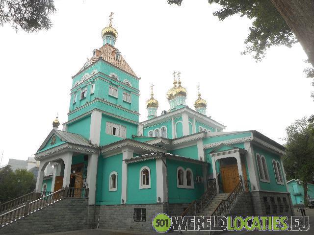 Kazachstan - De voormalige hoofdstad Almaty