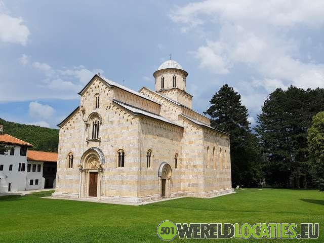 Kosovo - Het Visoki Decani klooster