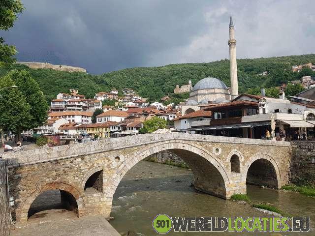 Kosovo - Historisch centrum Prizren
