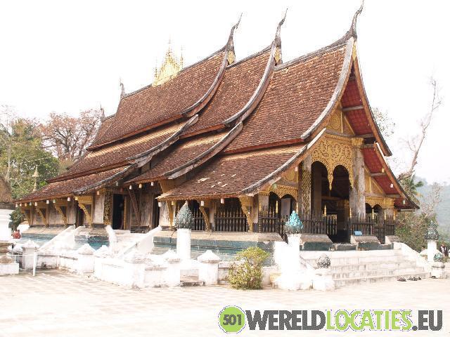 De tempels van Luang Prabang