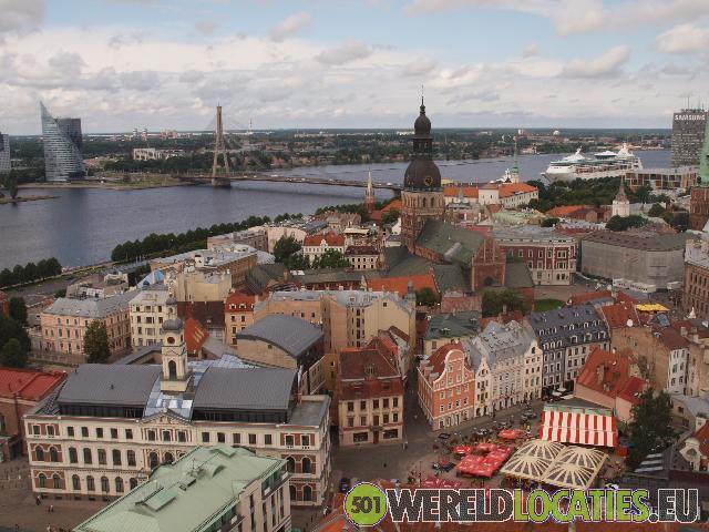 Riga, het kloppend hart van het Balticum