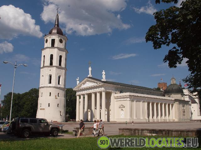 Litouwen - De Kathedraal van Vilnius