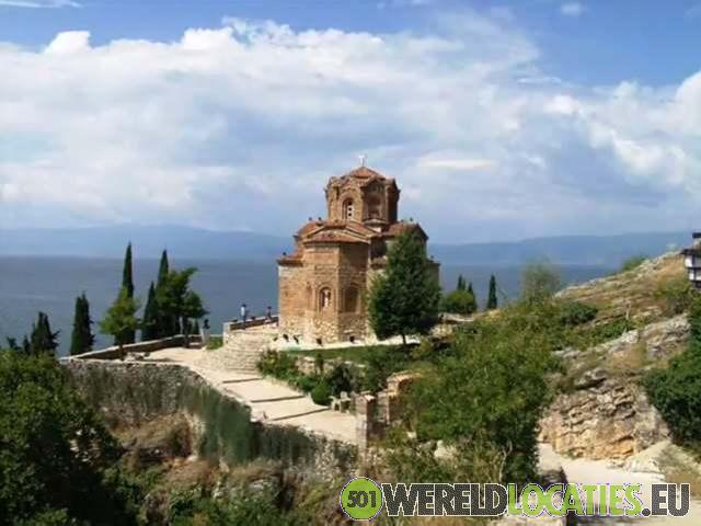 Macedonië - Kerk van Saint John in Kaneo