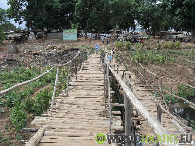 De oude markt van Lilongwe