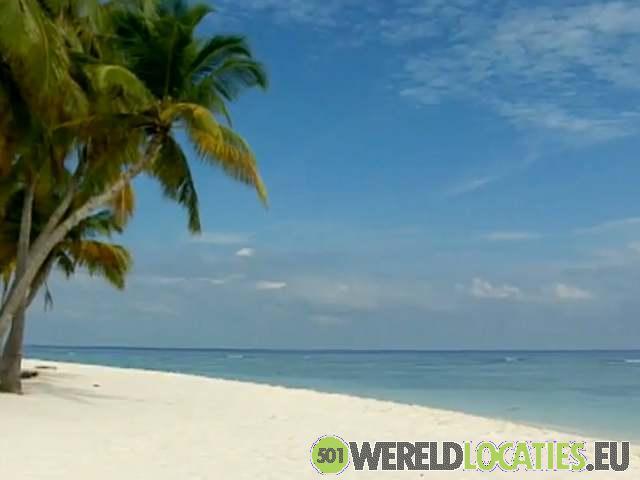 Paradijs eilanden van de Malediven