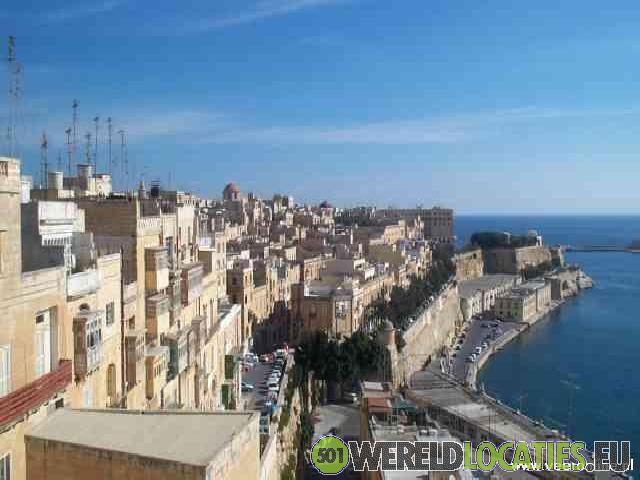 Malta - De smalle straatjes van Valetta
